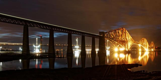 Queensferry am Firth of Forth