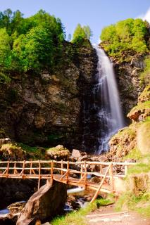 Wasserfall im Verzasca Tal