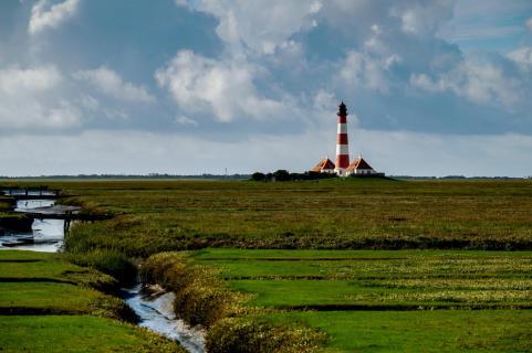 Leuchtturm Nordsee Westerhever
