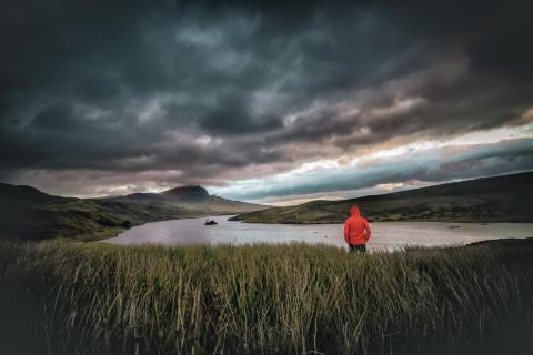 Morgenstimmung am Loch Fada