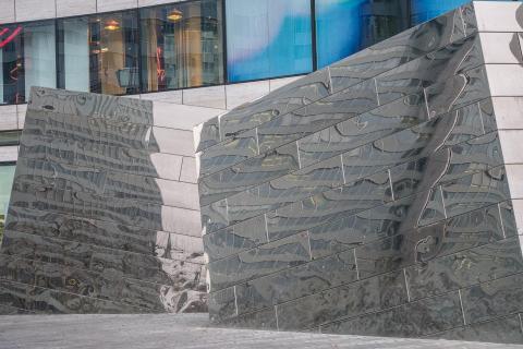 Düsseldorf, Spiegelung Kö-Bogen