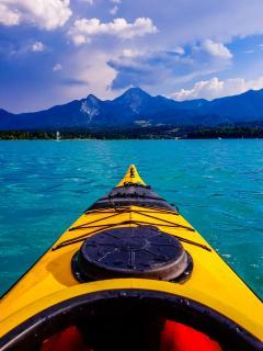Kayak am Faaker See