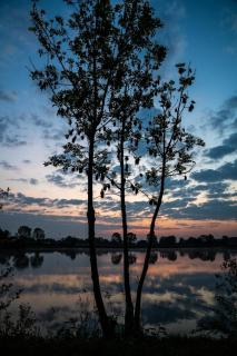 St. Leoner See, kurz vor Sonnenaufgang