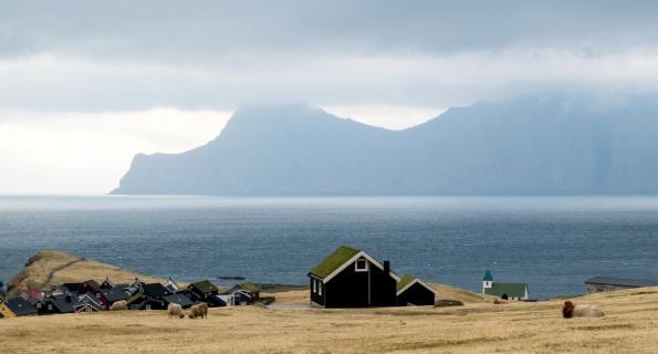 Stimmung auf den Färöer-Inseln