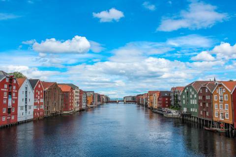 Fluchtpunkt: Unterwegs in Trondheim / Norwegen