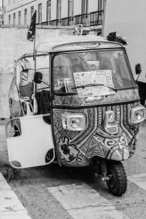 Transportmittel in Porto, tuut tuut