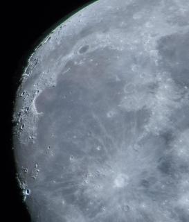 Landschaft auf dem Mond