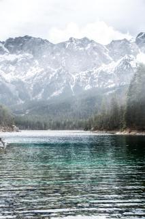 Landschaftsaufnahme, See