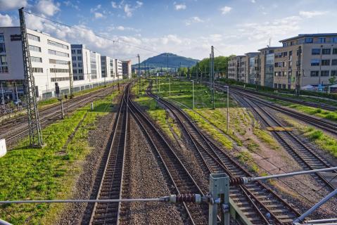 Freiburg Schienen