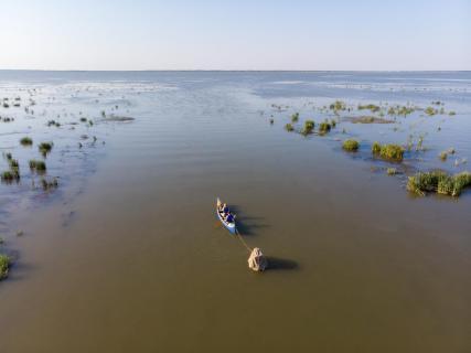Kanufahren im Donaudelta