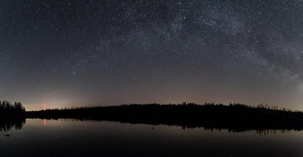 Sternenzauber am Oderteich