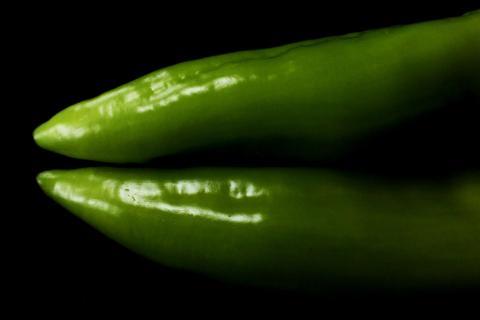 Grüne Beine