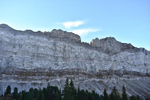 Felsenfest in Stein gemeisselt