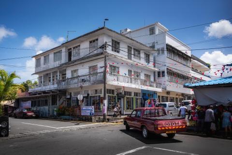 Auf den Straßen von Mauritius