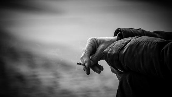 short life of a cigarette...