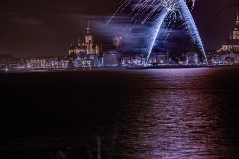 Stralsund Höhenfeuerwerk 2019 2020 1