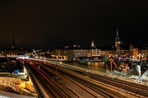 Verkehrsknotenpunkt Slussen
