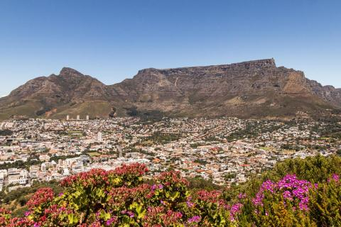 Tafelberg vom Signal Hill