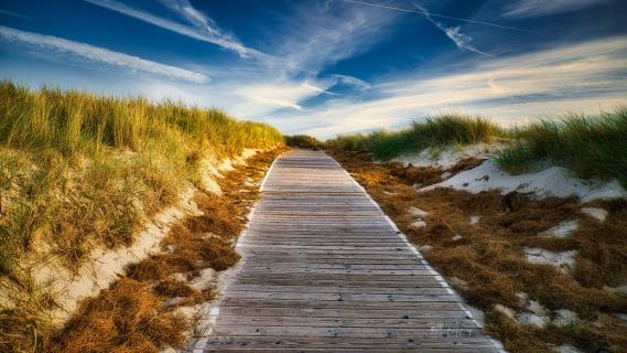 Strandaufgang Langeoog