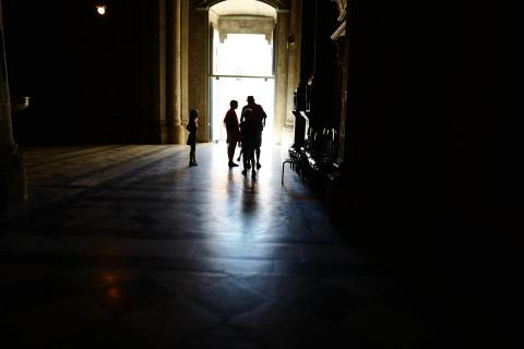 Im Dom von Arezzo
