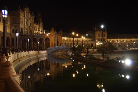 Nacht in Sevilla