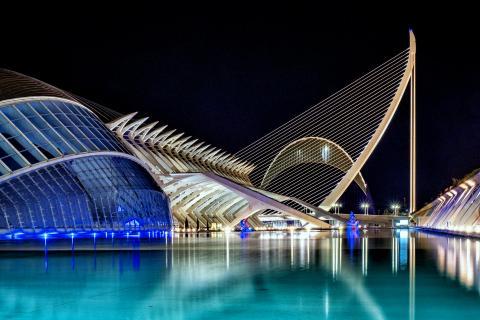 Valencia, Palau de les Arts