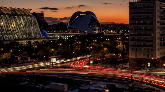 Valencia, Feierabendverkehr