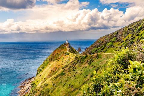 Nugget Point Lighthouse, Neuseeland