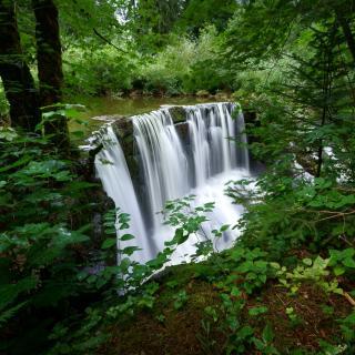 Der einsame Wasserfall