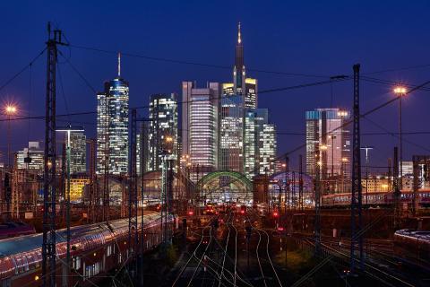 nächtliches Frankfurt