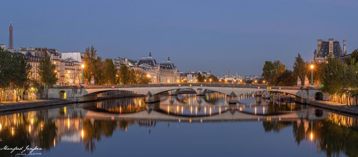 Paris_Pont du Carrousel
