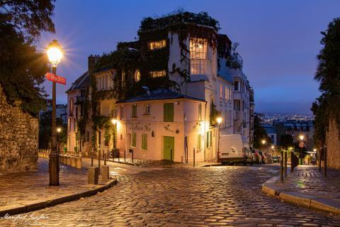 Montmartre bei Nacht