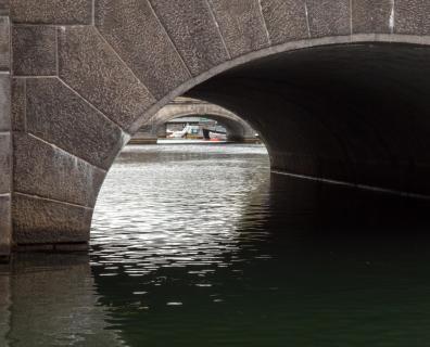 Kanalbrücken in Kopenhagen