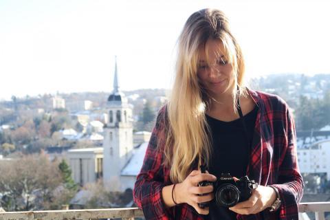 Nina und seiner Canon
