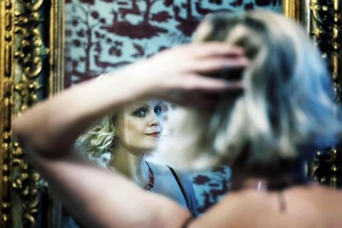 Portrait im Spiegel