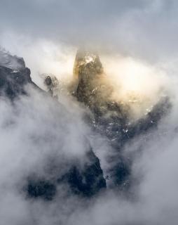 Balcoes im Nebel