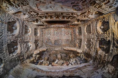 Yungang Grotten Architektur
