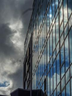Sabine Prilop Fassade eines Geschäftshauses