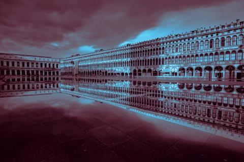 Die Fluten von Venedig