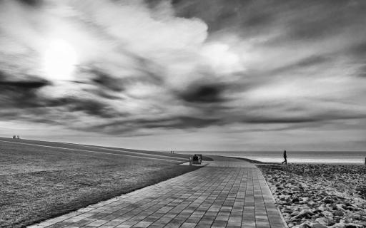 Promenade im Januar