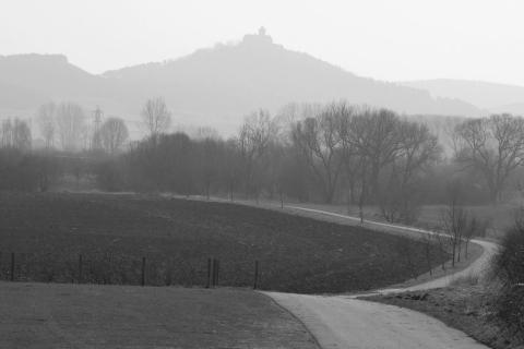 Weg zur Wachsenburg