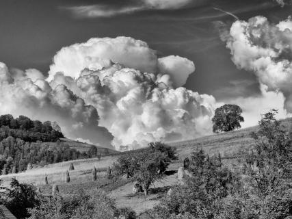 Bedrohliche Wolken in der Ukraine