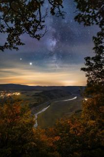 Herbstliche Nacht