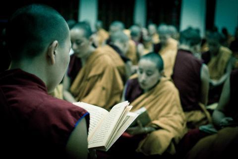 Buddhistische Zeremonie