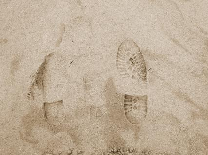 Every footprint leaves and impression!