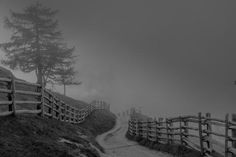 Mystischer Weg ins Abwärts