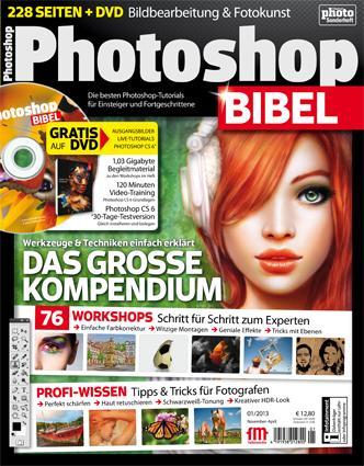 PhotoshopBIBEL 1/2013 jetzt im Handel!