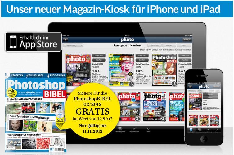 Endlich! – der neue DigitalPHOTO Kiosk für iPad und iPhone