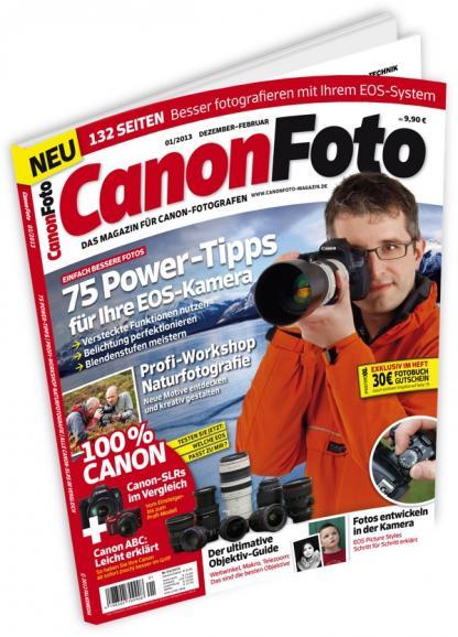 CanonFoto 01/2013 - Jetzt im Handel!