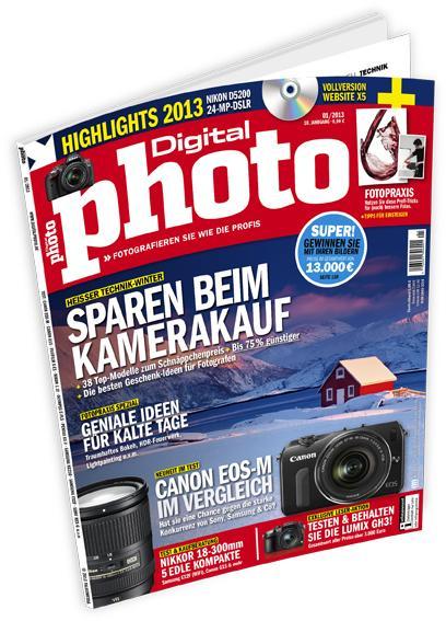 DigitalPHOTO 1/2013 jetzt im Handel!